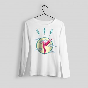 Hummingbird printed sweater