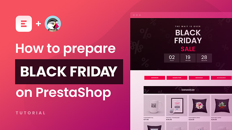How to prepare BLACK FRIDAY campaign on PrestaShop with Creative Elements